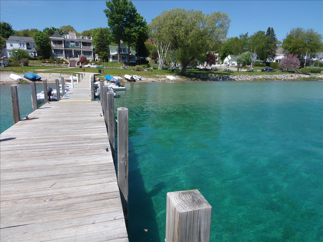 Kayak Dock Rack >> Harbor Springs Municipal Marina - Michigan Water Trails