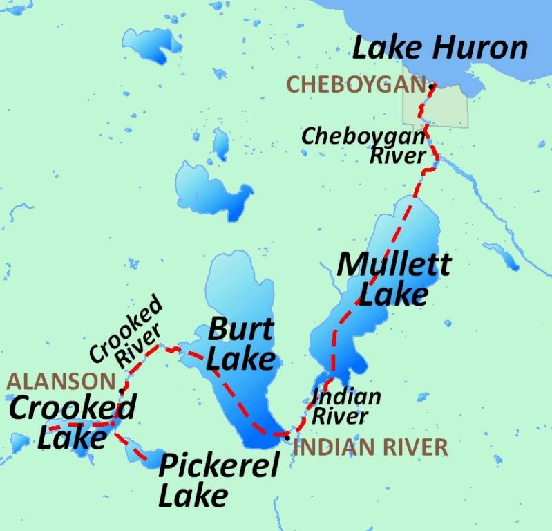 Inland Waterway  Michigan Water Trails