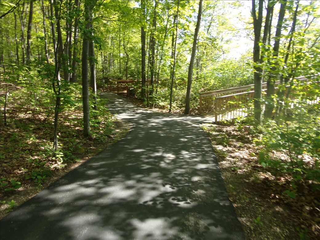 Middle Village Park pathway