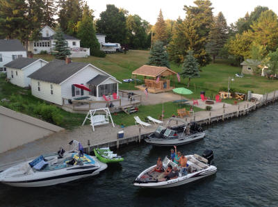 The Pines Cottages Of Indian River Michigan Water Trails