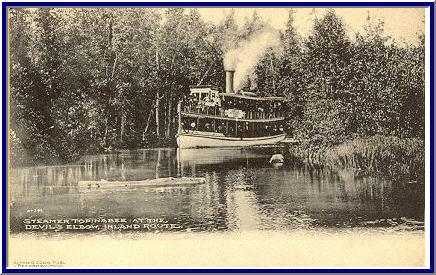 Historic Community Of Cheboygan Michigan Water Trails