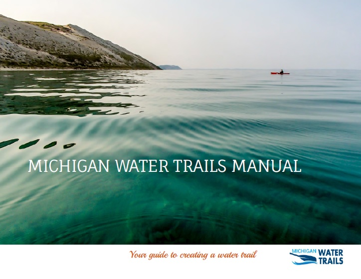 Cover of the Michigan Water Trails Manual
